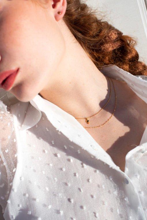 maison em bijoux ras de cou collection amour